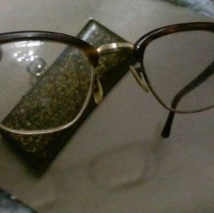 Old eye glasses
